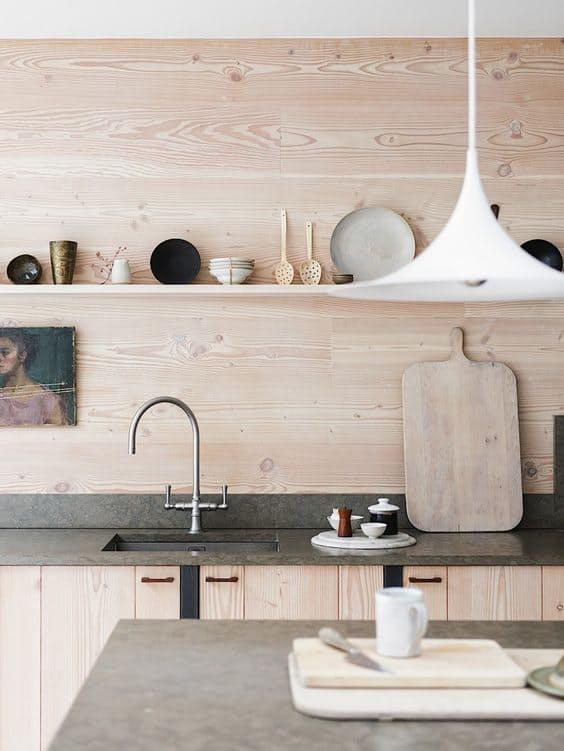 Использование бетона в интерьере кухни - фото 2