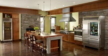 Креативный дизайн современной кухни