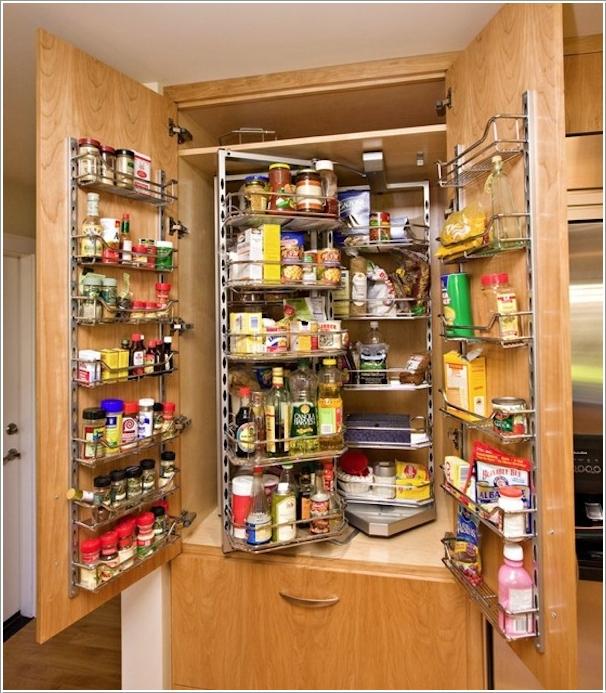 Интерьеры кухонь в зеленом цвете 21
