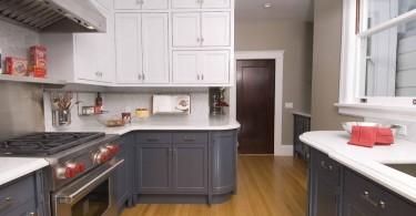 Современный дизайн кухонной зоны