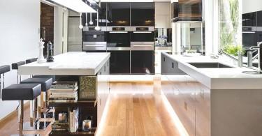 Уникальный дизайн элитной кухни