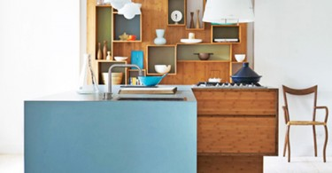 Дизайн бамбуковой кухни We Do Wood