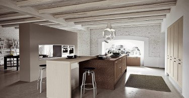 Классический дизайн кухонной мебели Villiage