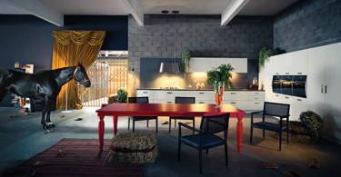 Дизайн интерьера кухни от Henrique Steyer