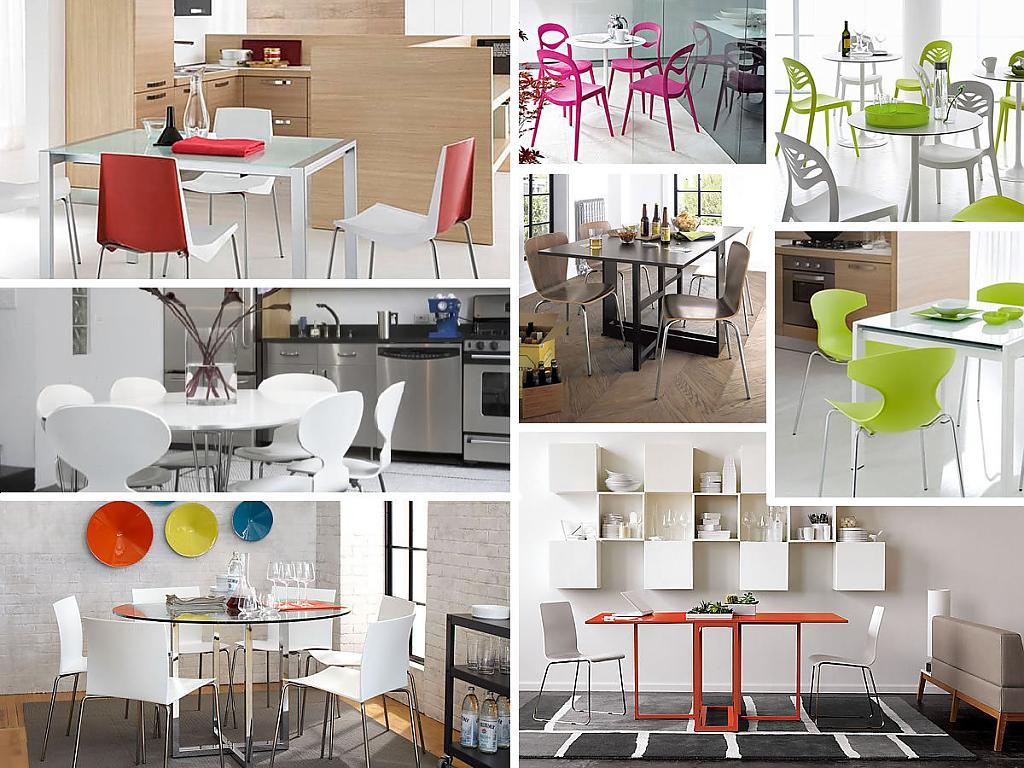 Дизайн стульев на кухне