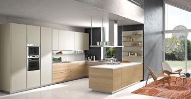 Уникальный дизайн кухонного гарнитура фабрики Snaidero