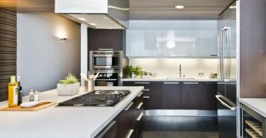 Модный дизайн кухонного фартука