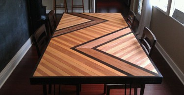 DIY проект обеденного стола от Trendir