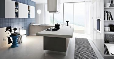 Элегантная кухонная мебель в стиле минимализма