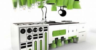 Кухонный дизайн от арт-студии Faltazi