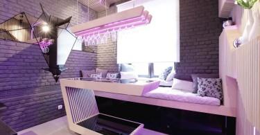 Экстравагантный дизайн интерьера кухни от Geometrix