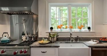 Дизайн раковины в интерьере кухни