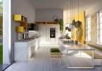 Модный дизайн практичной кухни