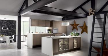 Стильный дизайн кухни Mobalpa
