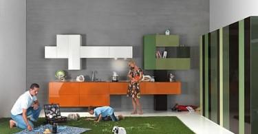 Дизайн кухни 36E8 от Daniele Lago