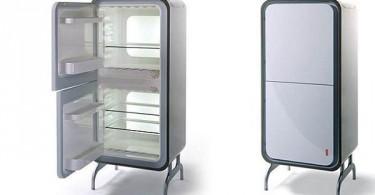 Ретро-холодильник Bi-Axis