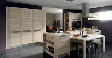 Французский дизайн кухонной мебели от Марко Моро