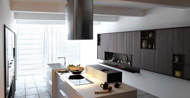 Стильный дизайн итальянской кухни Kalea от Cesar