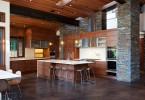 Дизайн интерьера просторной кухни