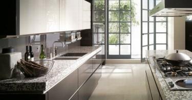 Восхитительный дизайн тёмной кухни Binns