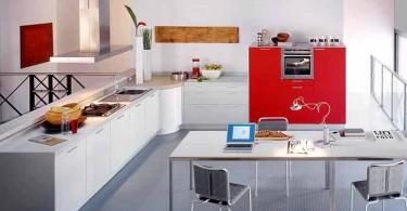 Эксклюзивный дизайн кухни от фабрики Valсucine