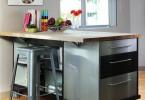 Мобильный кухонный остров
