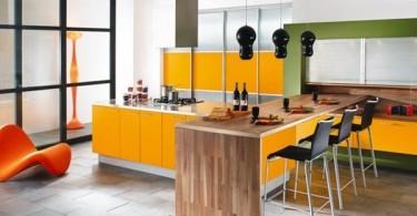 Концептуальная серия кухонной мебели от Mobalpa