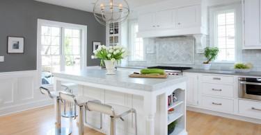 Красивый дизайн интерьера кухни