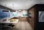 Дизайн кухни в цветовой схеме «зебрано»