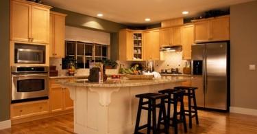 Стильный дизайн современной кухни