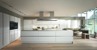 Роскошный дизайн немецкой кухни SieMatic