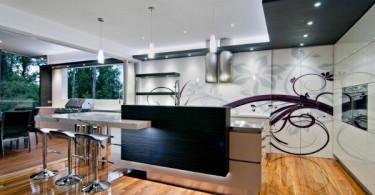 Концептуальный дизайн стильной кухни от Kim Daffin