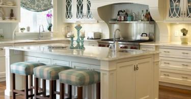 Кухонные табуреты с мягким сидением