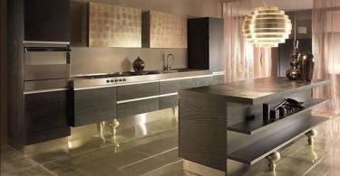 Современный интерьер кухонного гарнитура