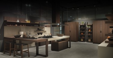 Дизайн современной итальянской кухни