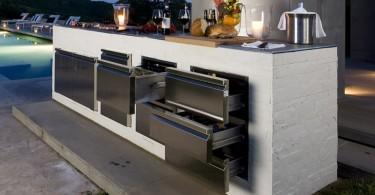 Дизайн наружной кухни