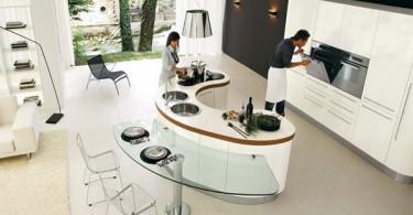 Стильный дизайн мебели кухни современные кухни Venere