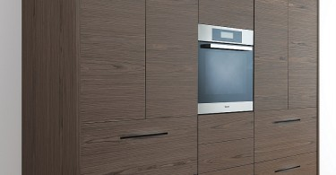 Оригинальный дизайн деревянного кухонного гарнитура Pampa Kitchen