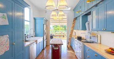 Викторианская кухня с элементами модерна