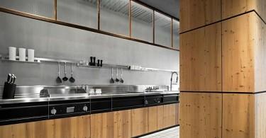 Деревянная кухонная мебель от Minacciolo