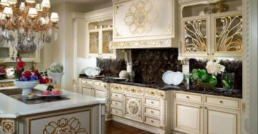 Дизайн кухонного интерьера в стиле винтаж