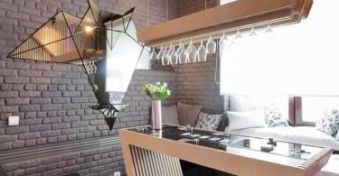 Футуристическая кухня Parametrix Kitchen
