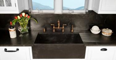 Дизайн фронтальной кухонной мойки