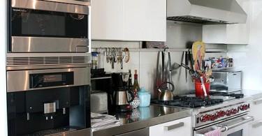 Элегантный интерьер кухни