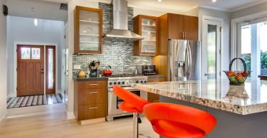 Элегантный дизайн интерьера кухни