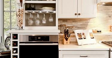 Оригинальный дизайн кухонного гарнитура