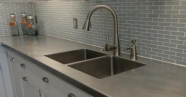 Искусственный мрамор для современной кухни