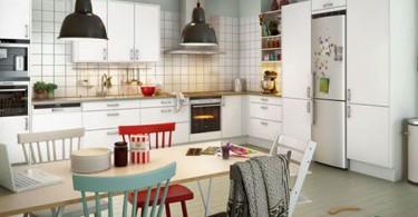 Уютгый дизайн интерьера кухни