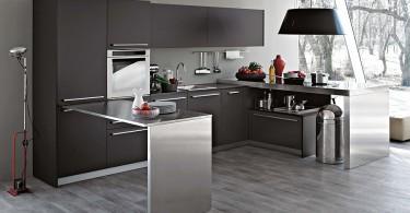 Современный дизайн интерьера модульной кухни