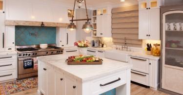 Элементы французского стиля в интерьере кухни